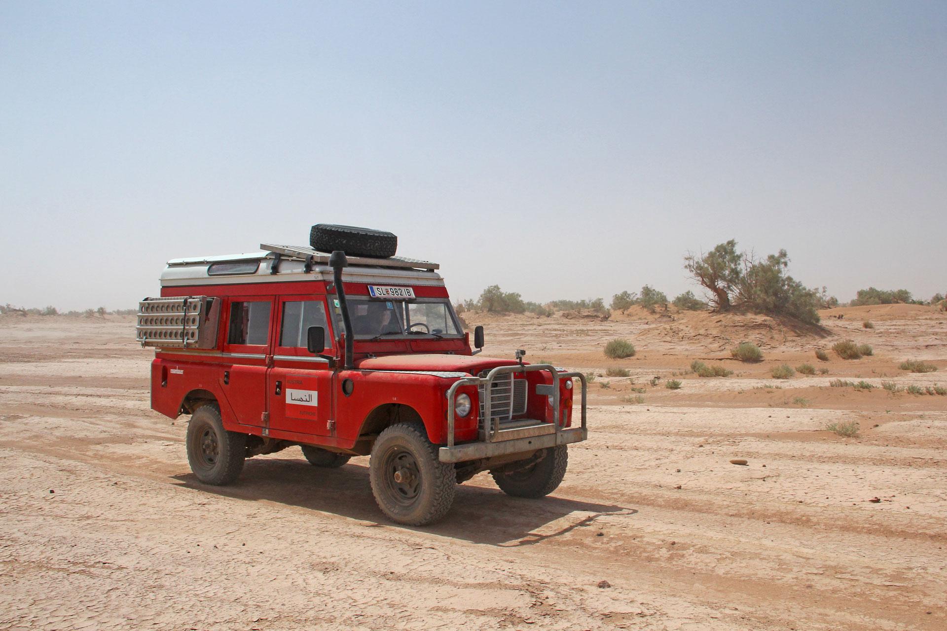 Mecki in Marokko