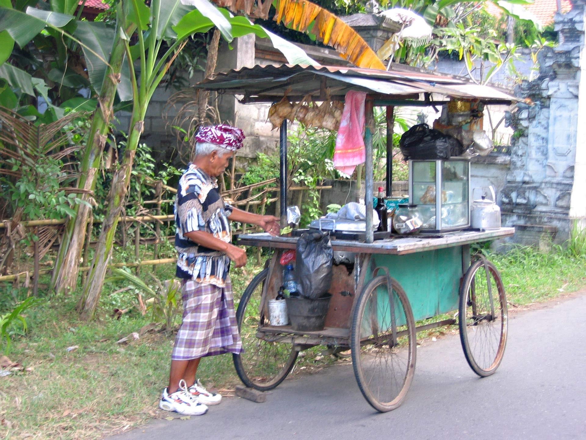 Straßenverkäufer