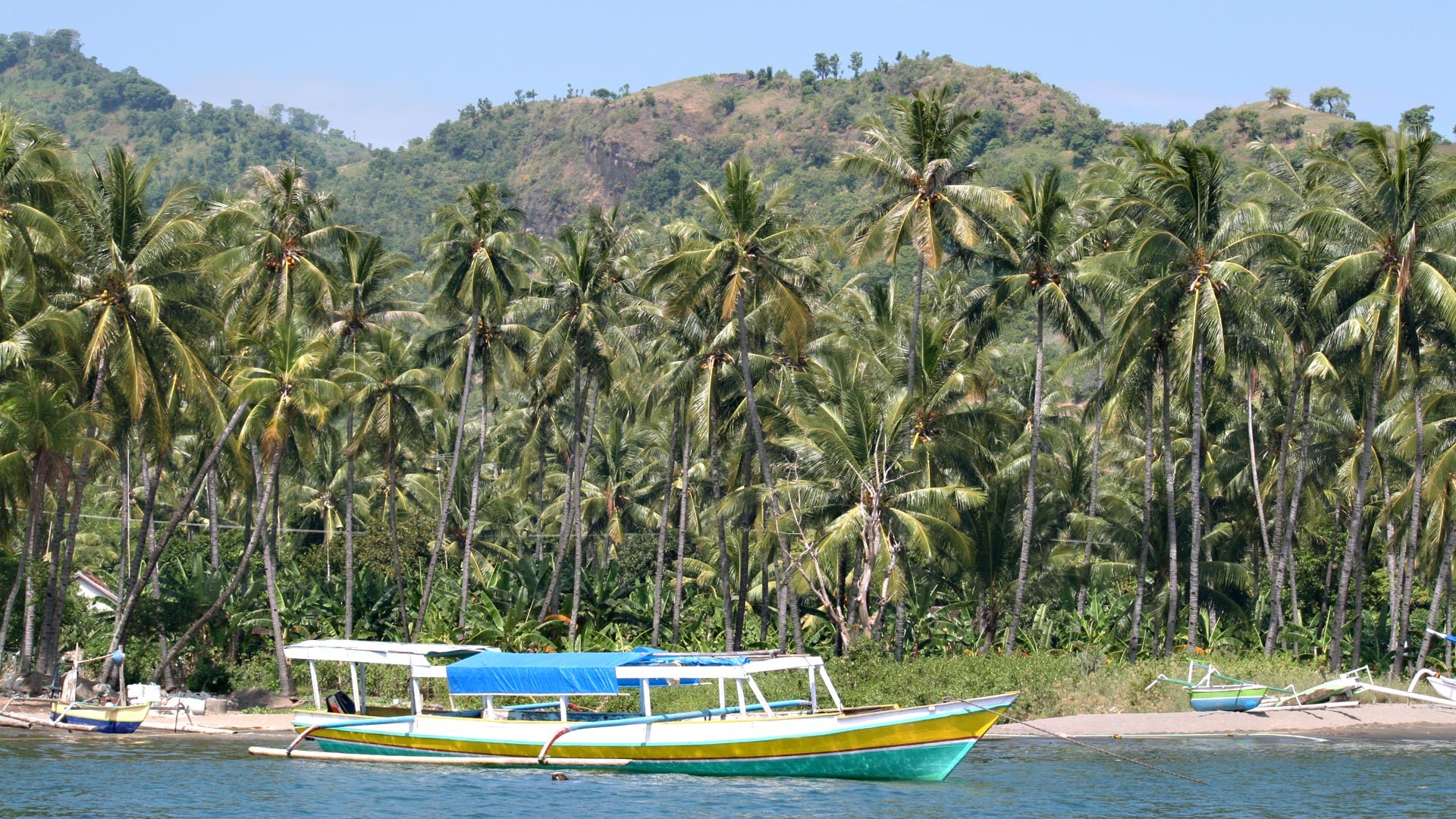 Hafen Teluk Kode auf Lombok
