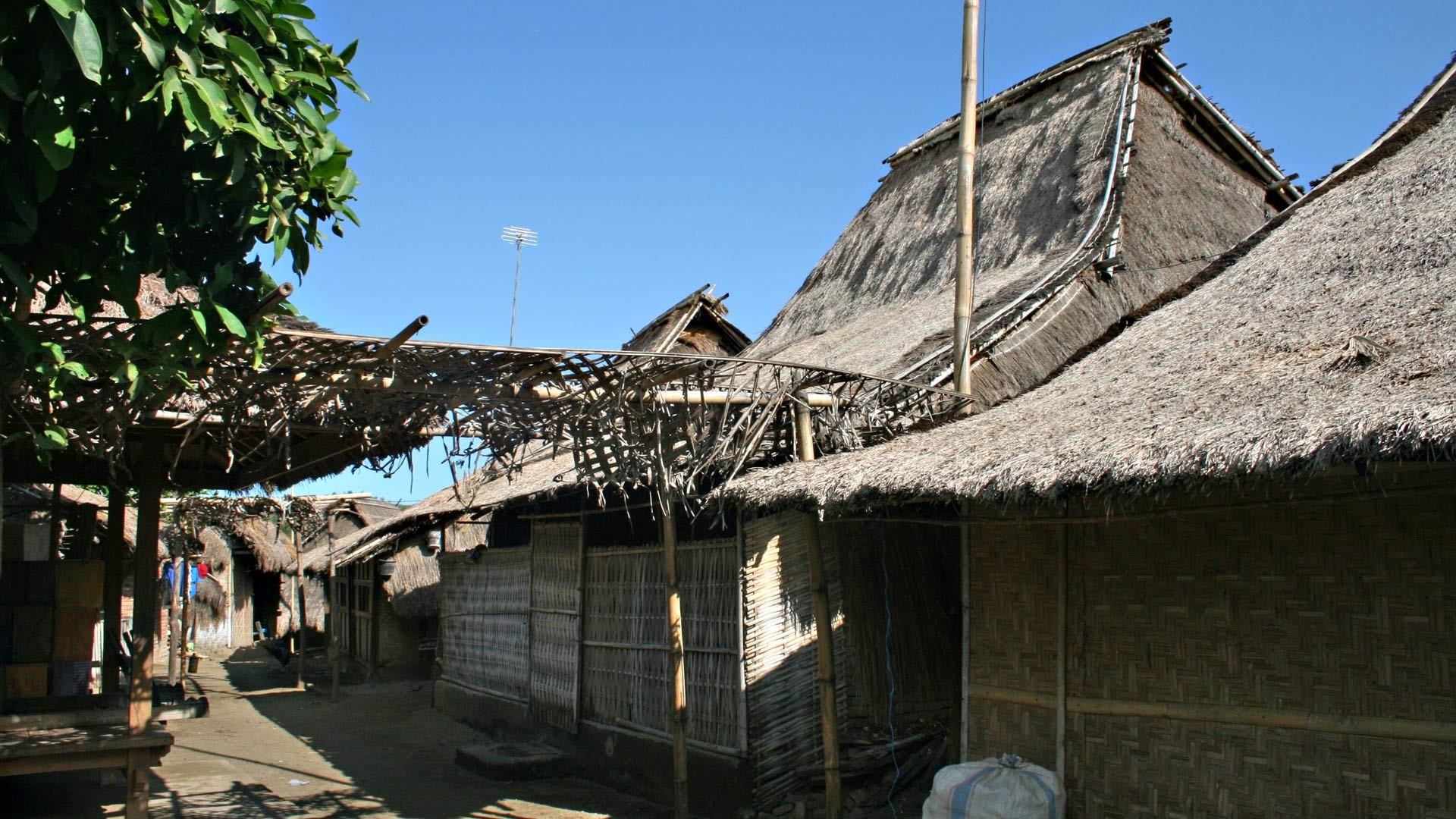 Das Dorf Sade, hier leben die Sasak Ureinwohner