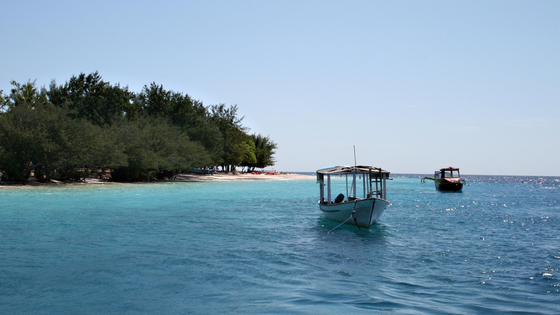 Die Gili Insel vor Lombok