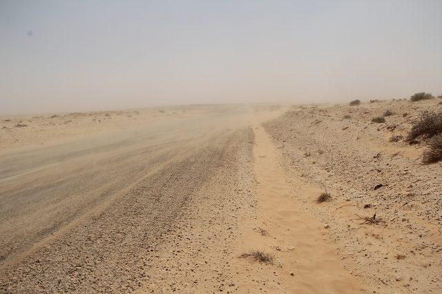 Weg nach Douz